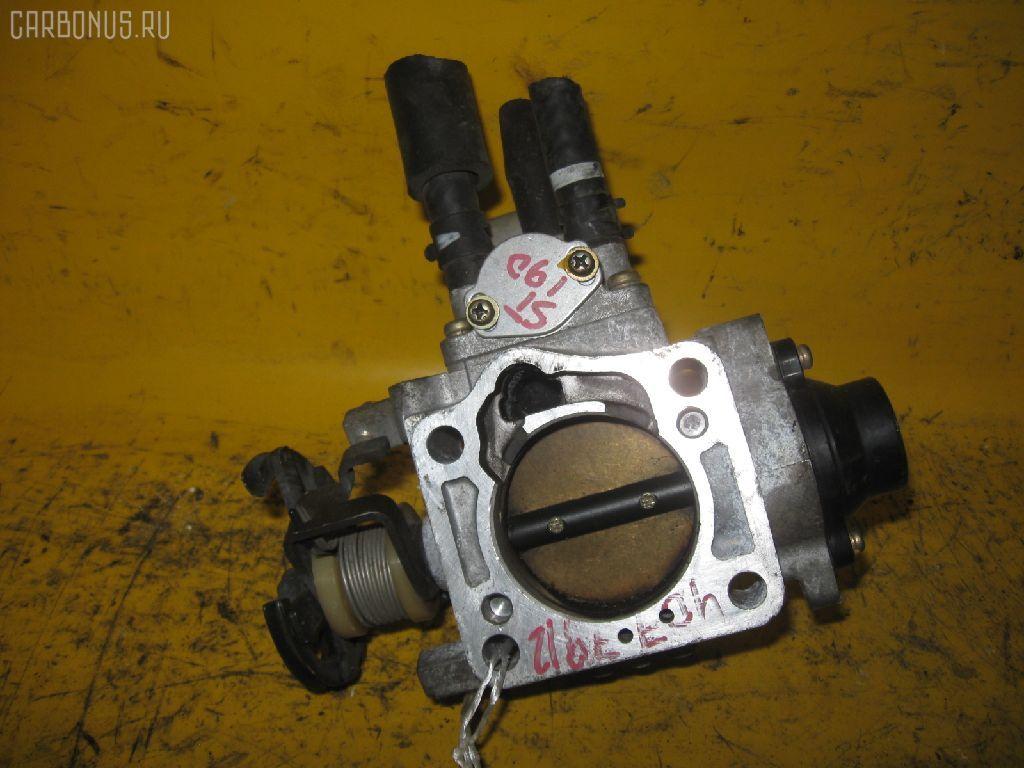 Дроссельная заслонка TOYOTA ST190 4S-FE. Фото 5