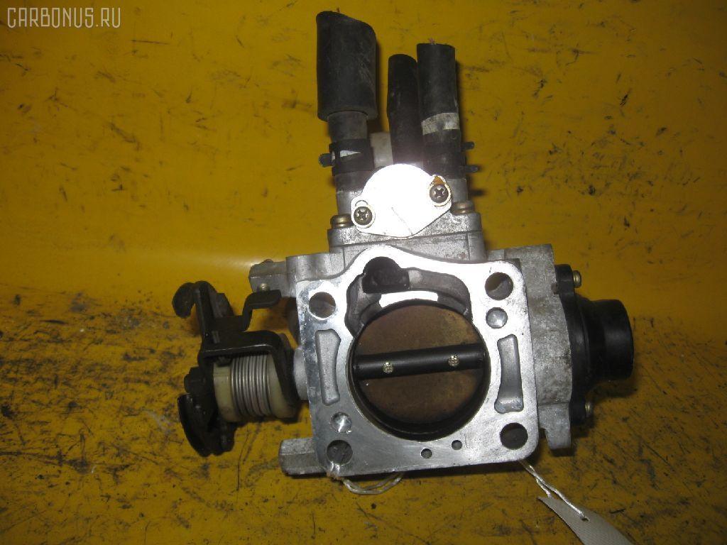 Дроссельная заслонка TOYOTA ST190 4S-FE. Фото 7