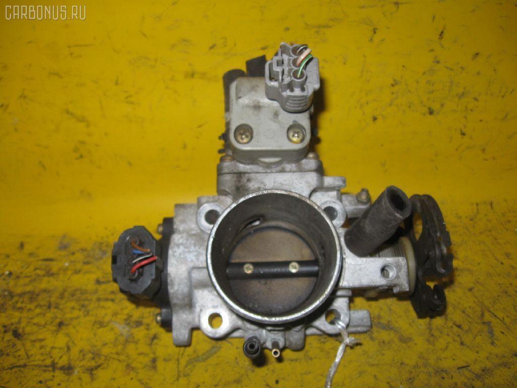 Дроссельная заслонка TOYOTA ST190 4S-FE. Фото 8