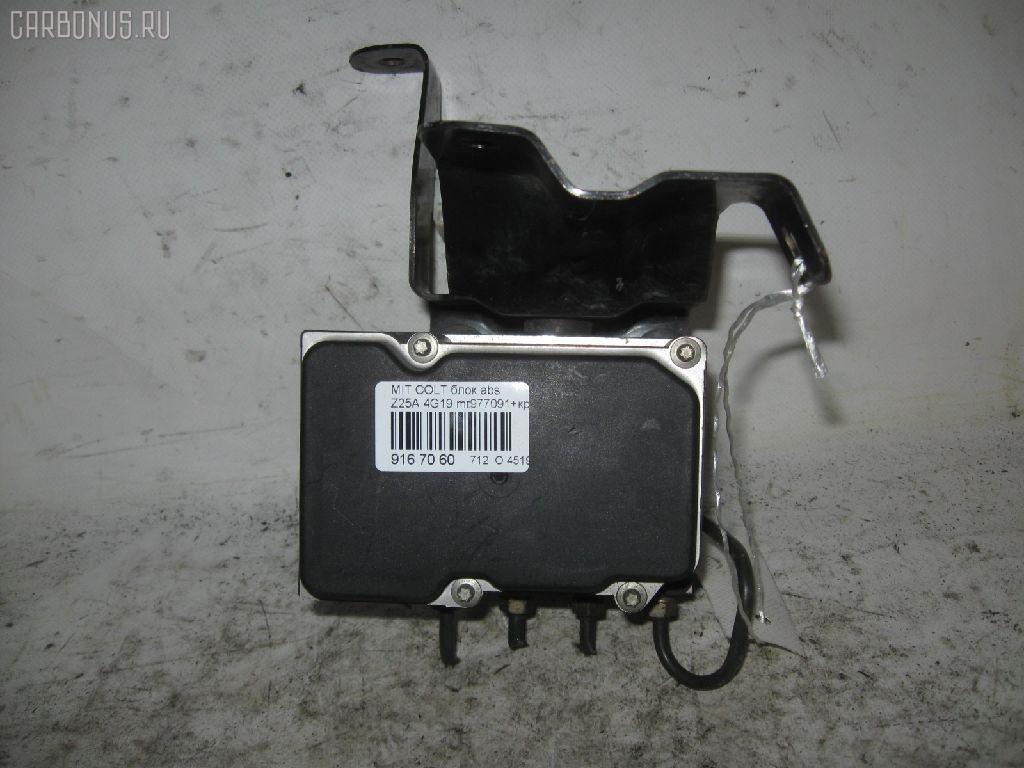 Блок ABS MITSUBISHI COLT Z25A 4G19. Фото 3