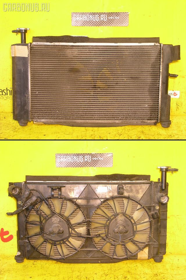 Радиатор ДВС TOYOTA PRIUS NHW10 1NZ-FXE. Фото 7