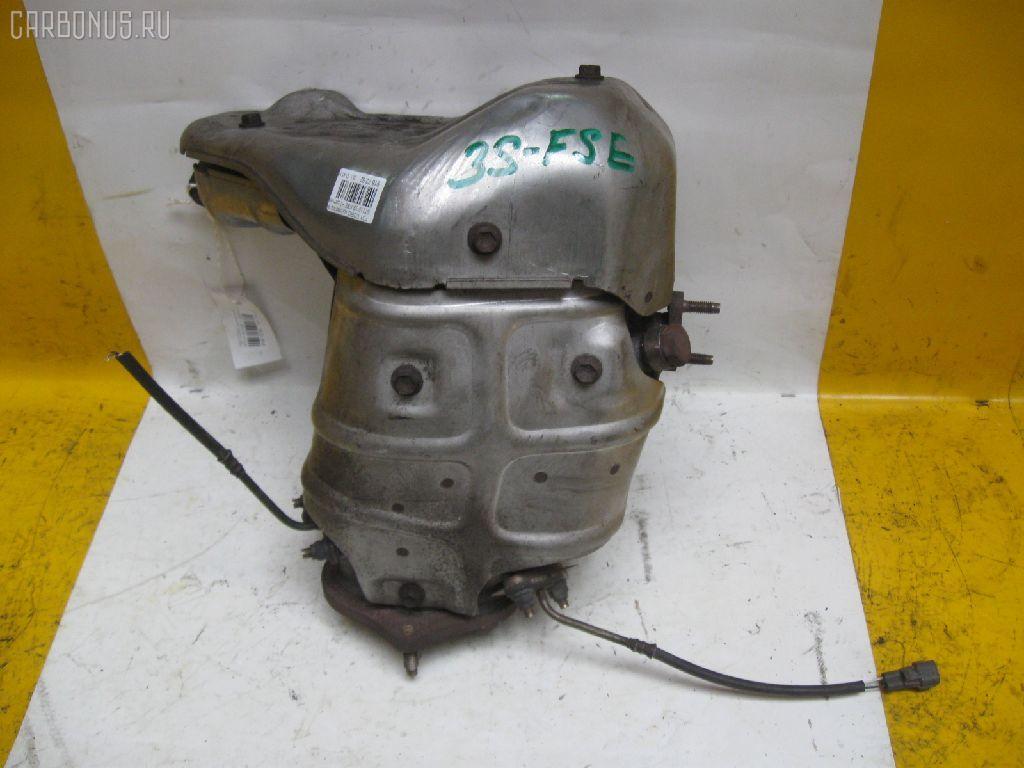 Коллектор выхлопной TOYOTA CORONA PREMIO ST210 3S-FSE. Фото 4