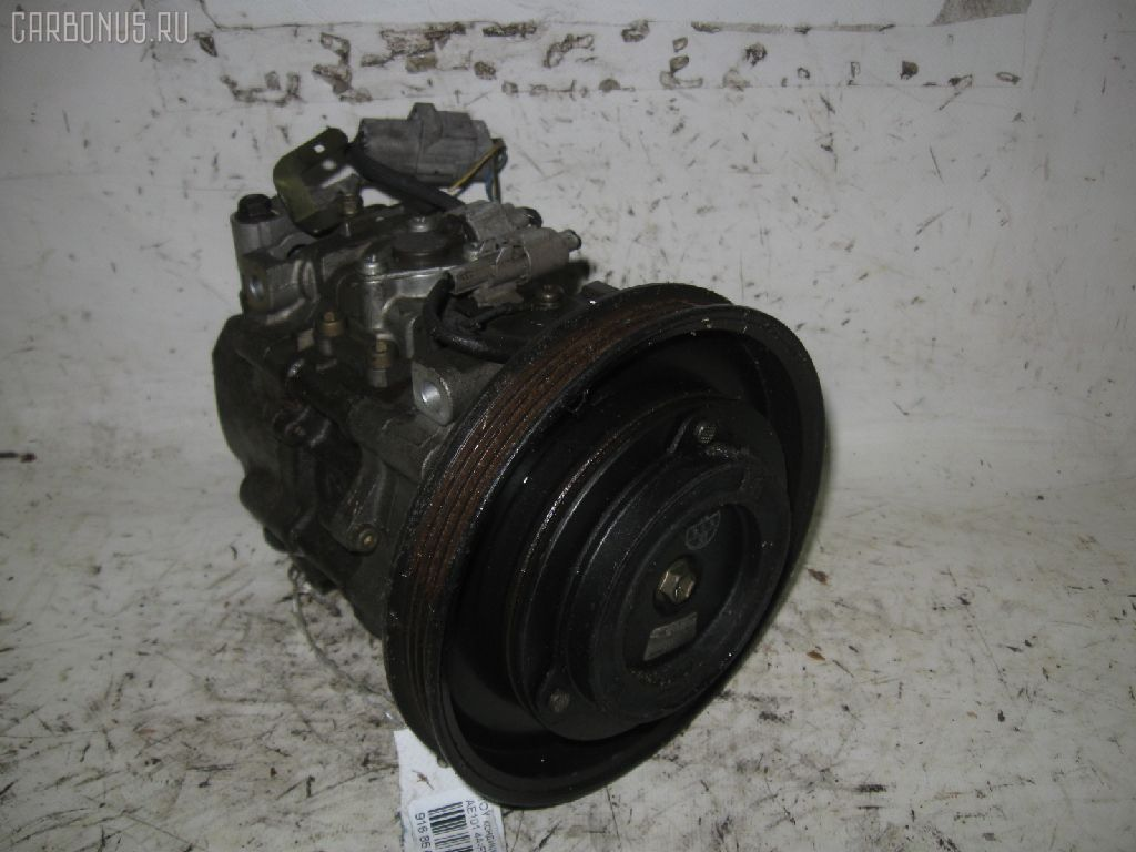 Компрессор кондиционера TOYOTA SPRINTER MARINO AE101 4A-FE. Фото 3