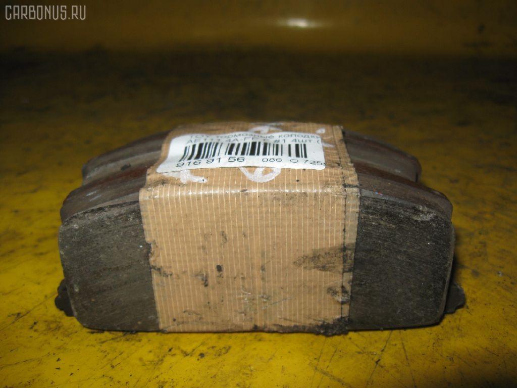 Тормозные колодки TOYOTA AE111 4A-FE. Фото 2