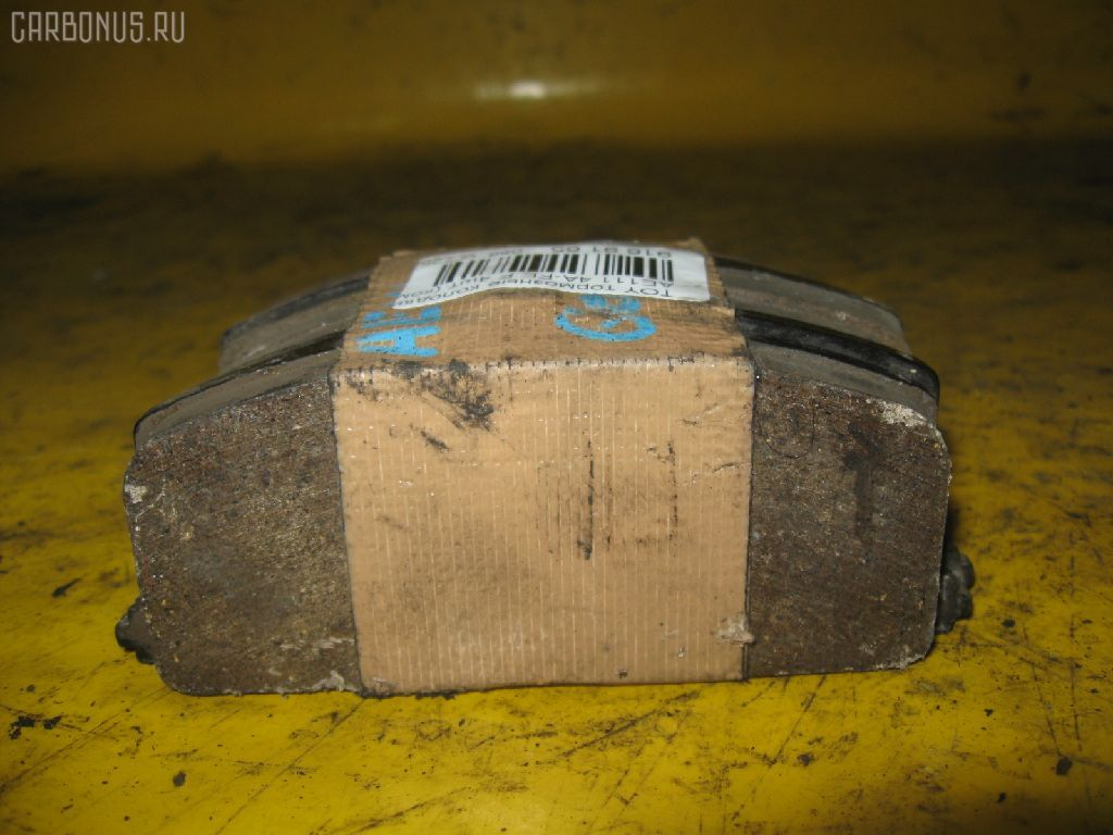 Тормозные колодки TOYOTA AE111 4A-FE. Фото 3