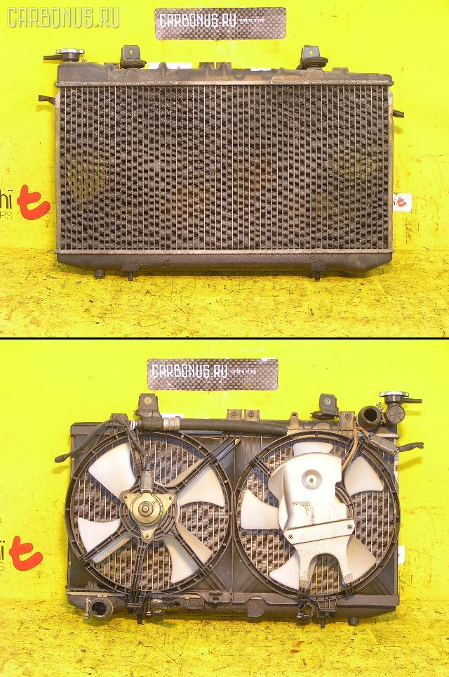 Радиатор ДВС NISSAN PRESEA PR11 SR18DE. Фото 3