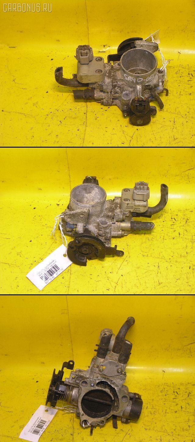 Дроссельная заслонка TOYOTA LITE ACE NOAH SR40G 3S-FE. Фото 7