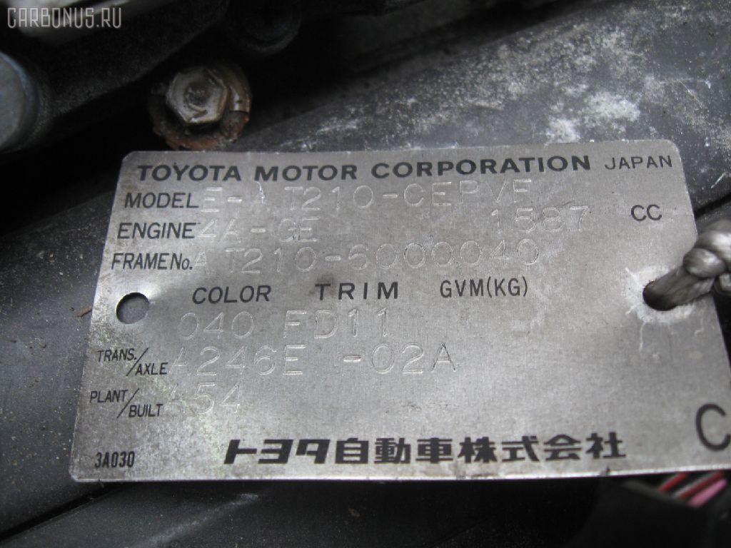 Двигатель TOYOTA SPRINTER CARIB AE111G 4A-GE. Фото 8