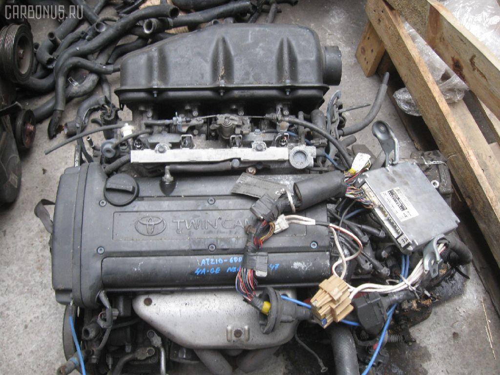 Двигатель TOYOTA SPRINTER CARIB AE111G 4A-GE. Фото 9