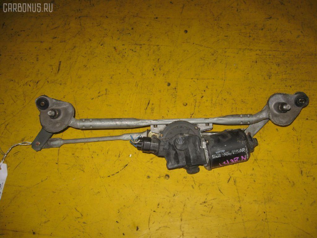 Мотор привода дворников TOYOTA COROLLA NZE121. Фото 8