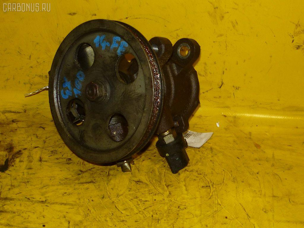 Насос гидроусилителя TOYOTA GX100 1G-FE. Фото 9