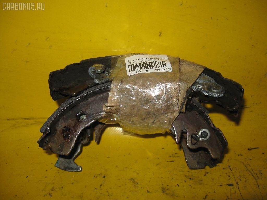 Тормозные колодки TOYOTA VITZ SCP10 1SZ-FE. Фото 1