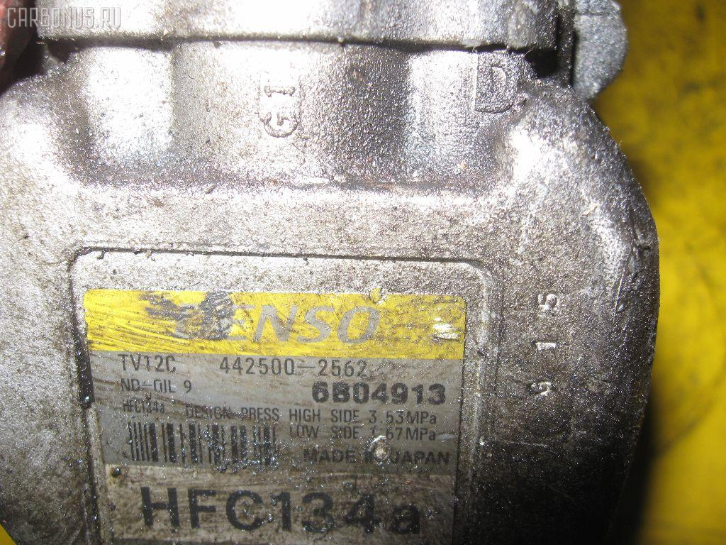 Компрессор кондиционера TOYOTA COROLLA WAGON EE103V 5E-FE. Фото 3
