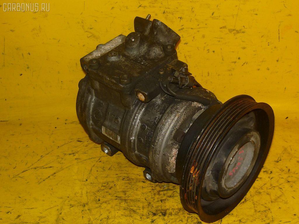 Компрессор кондиционера TOYOTA ST195 3S-FE. Фото 11