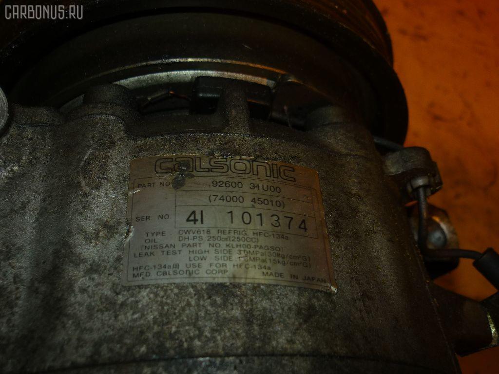 Компрессор кондиционера NISSAN LAUREL HC35 RB20DE. Фото 6