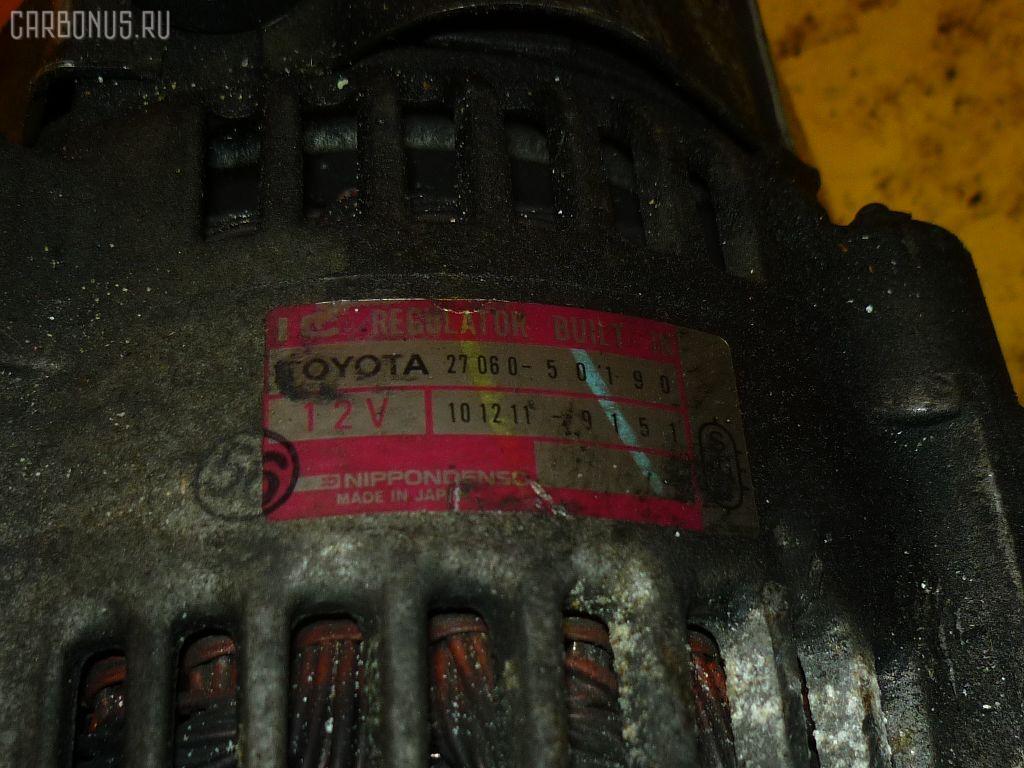 Генератор TOYOTA CELSIOR UCF21 1UZ-FE. Фото 3