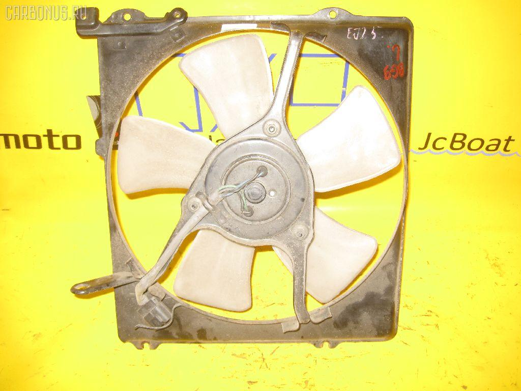 Вентилятор радиатора ДВС SUBARU LEGACY GRAND WAGON BG9 EJ25. Фото 1