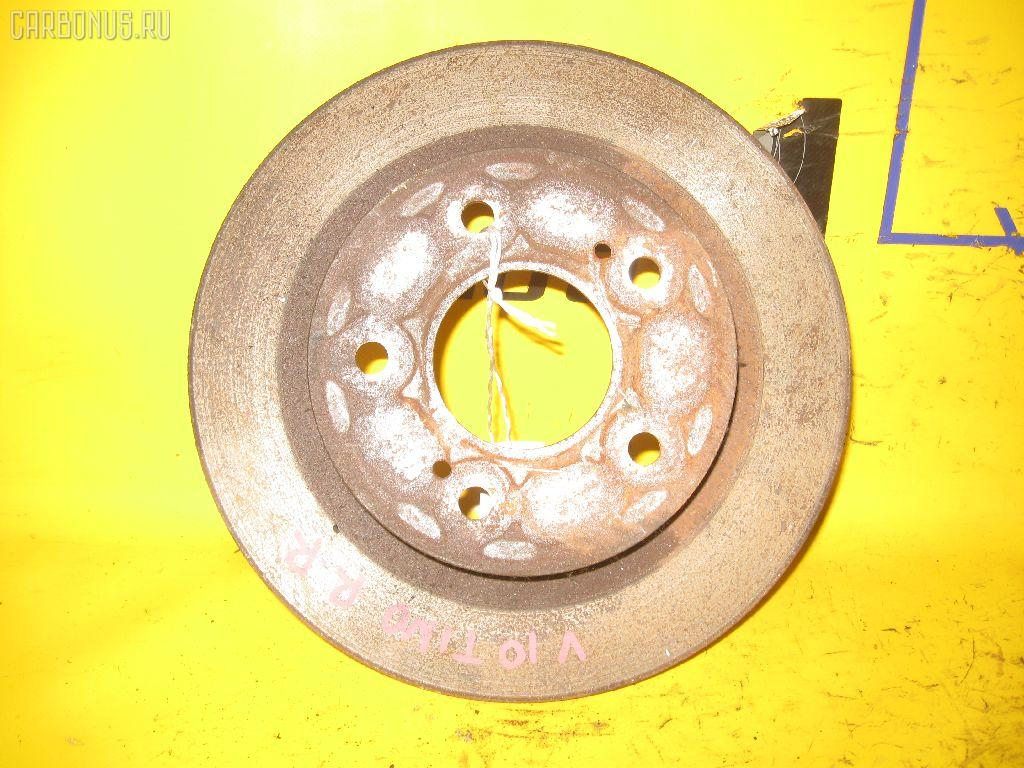 Тормозной диск NISSAN TINO V10. Фото 2