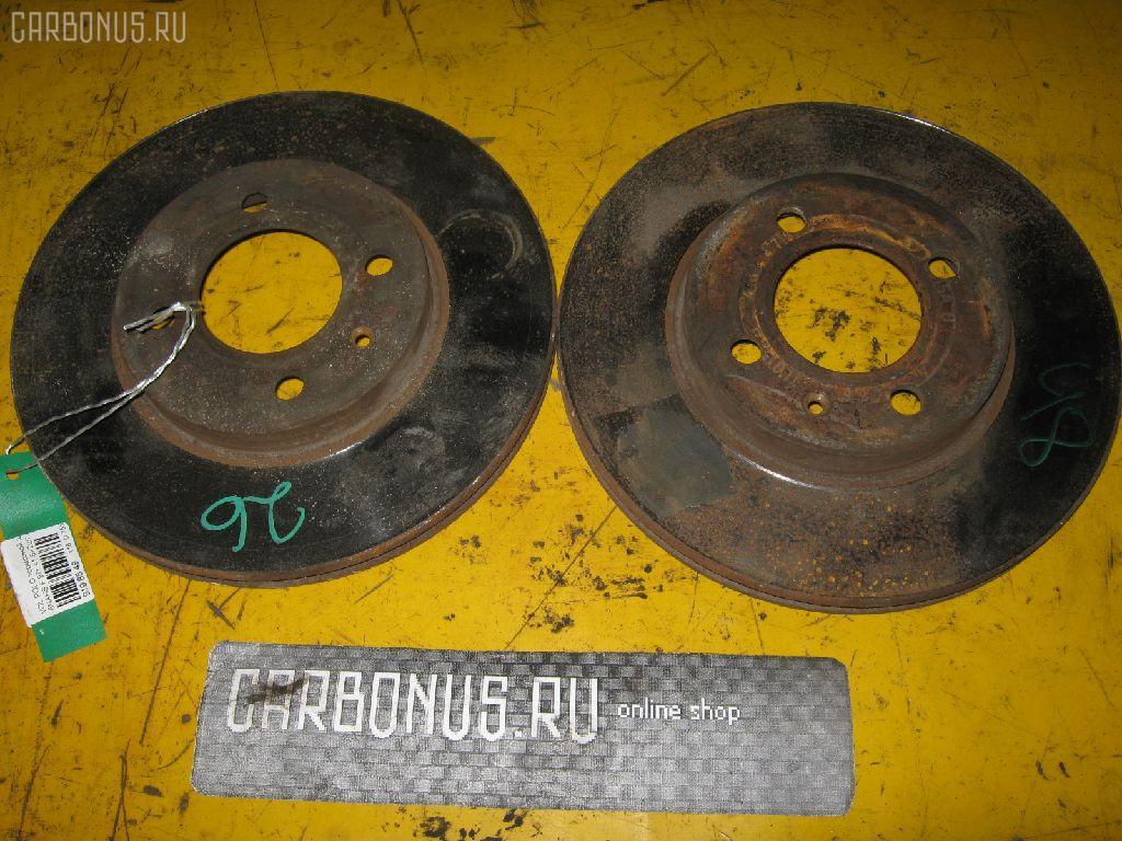 Тормозной диск VOLKSWAGEN POLO 6NAHS AHS Фото 2