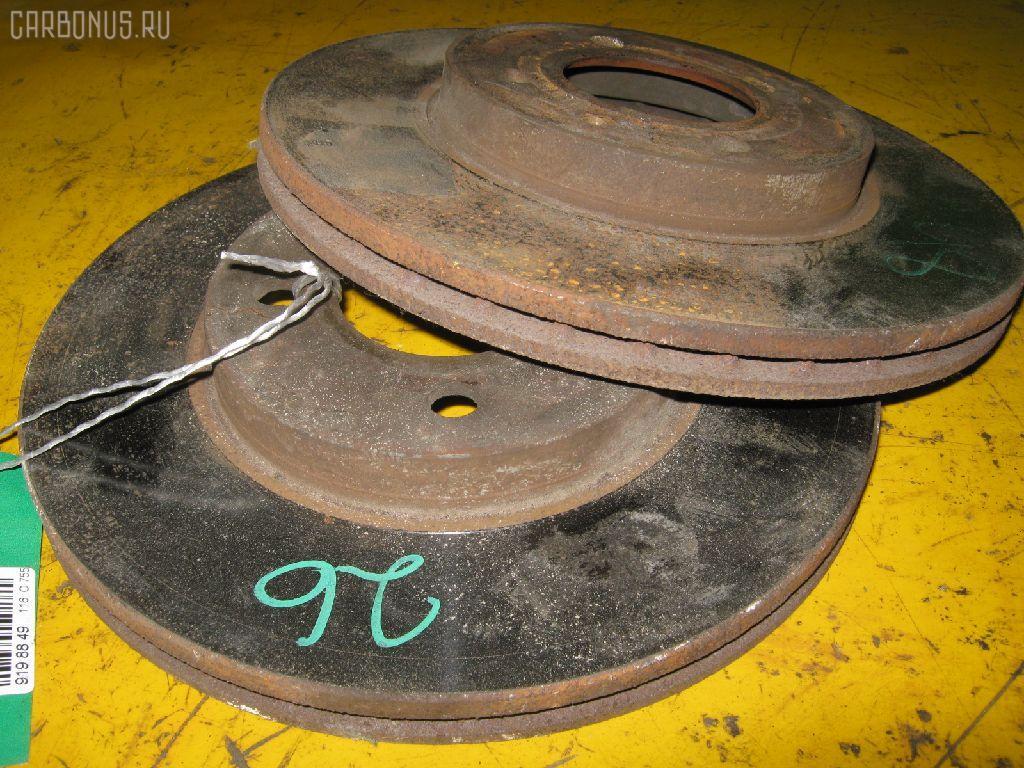 Тормозной диск VOLKSWAGEN POLO 6NAHS AHS Фото 1
