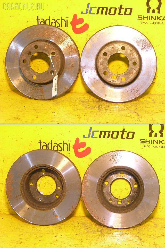 Тормозной диск BMW 5-SERIES E39-DD28A M52-286S1. Фото 5