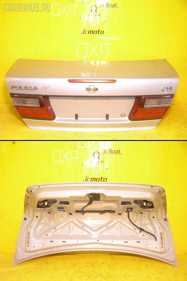 Крышка багажника NISSAN PULSAR FN15. Фото 5