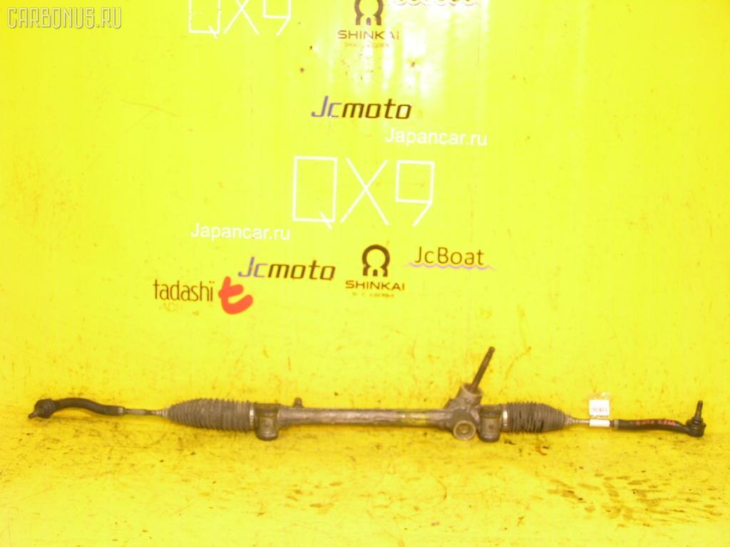 Рулевая рейка TOYOTA VITZ KSP90 1KR-FE. Фото 8