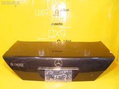 Крышка багажника MERCEDES-BENZ S-CLASS W140.032 A1407500275