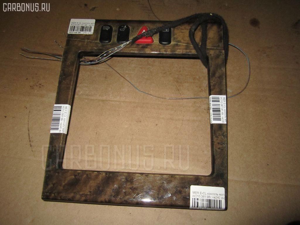 Консоль магнитофона MERCEDES-BENZ E-CLASS W210.061 Фото 2