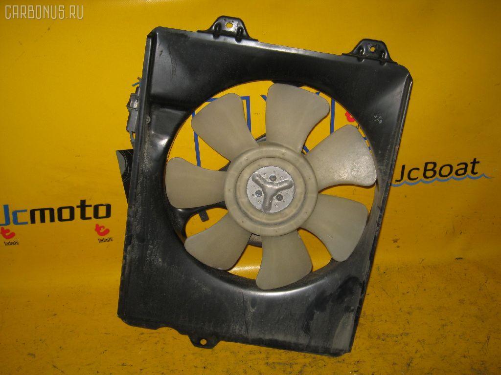 Вентилятор радиатора ДВС TOYOTA IPSUM SXM10G 3S-FE. Фото 2