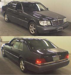 Патрубок радиатора ДВС Mercedes-benz S-class W140.032 104.994 Фото 1