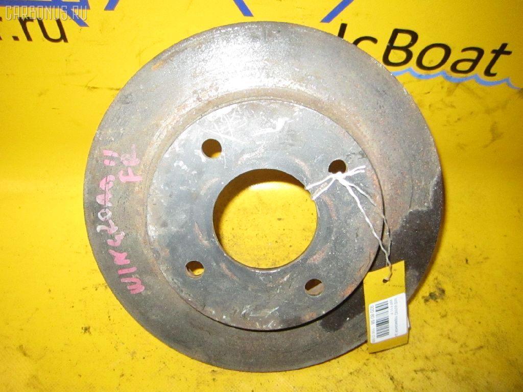 Тормозной диск NISSAN WINGROAD WFY11. Фото 3