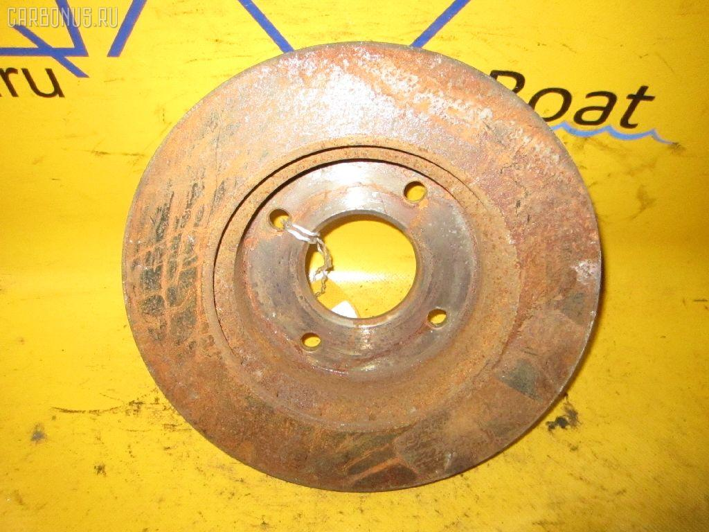 Тормозной диск NISSAN BLUEBIRD SYLPHY QG10. Фото 3