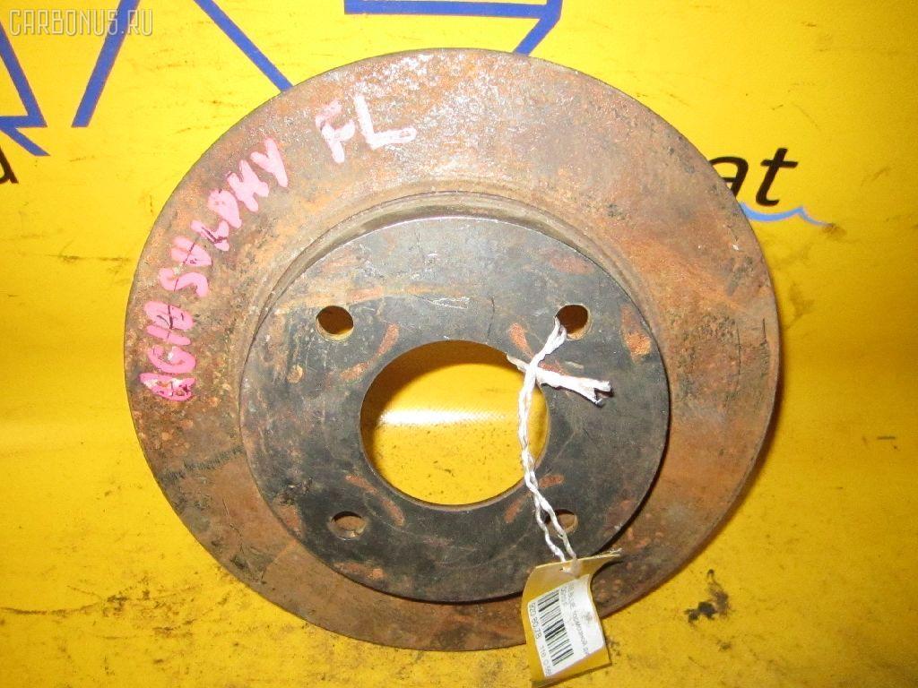 Тормозной диск NISSAN BLUEBIRD SYLPHY QG10. Фото 4
