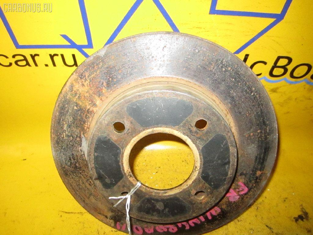 Тормозной диск NISSAN WINGROAD WFY11. Фото 5