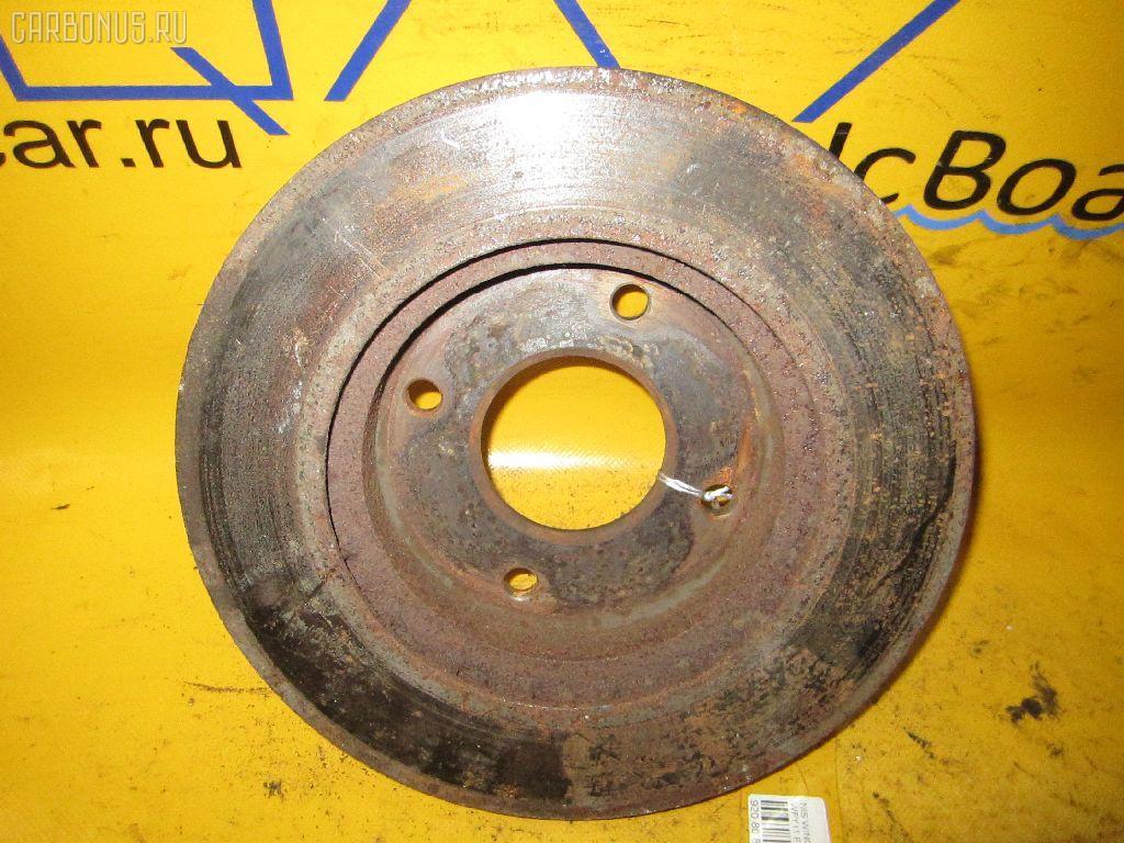 Тормозной диск NISSAN WINGROAD WFY11. Фото 6