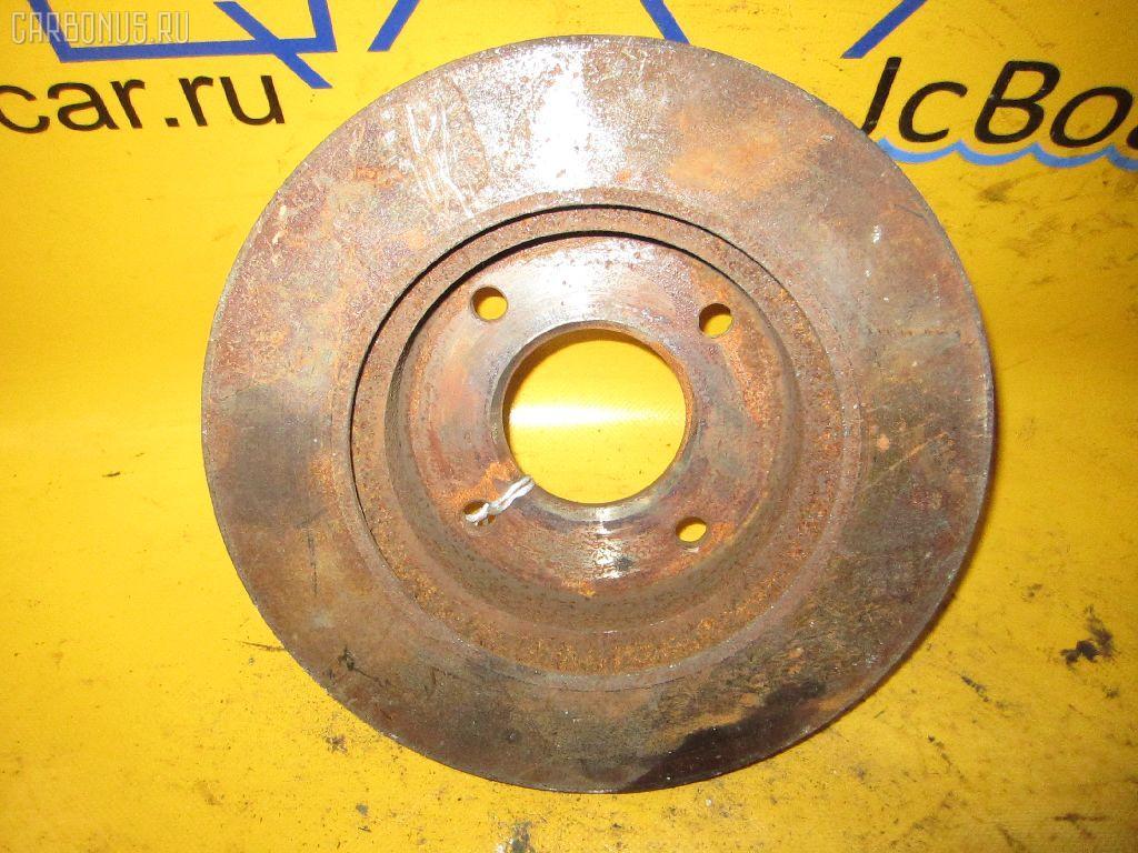 Тормозной диск NISSAN BLUEBIRD SYLPHY QG10. Фото 5