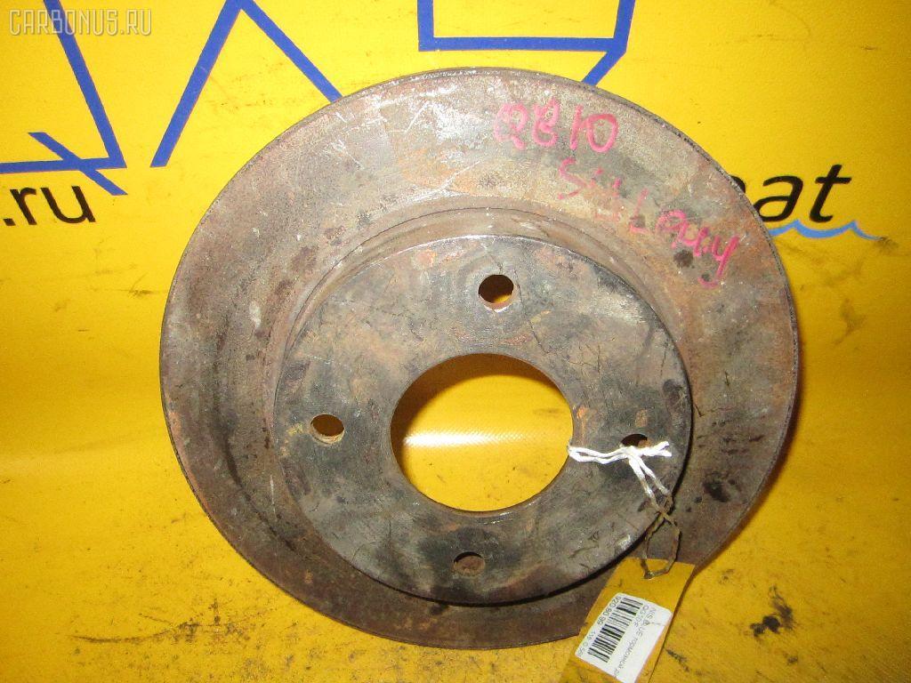 Тормозной диск NISSAN BLUEBIRD SYLPHY QG10. Фото 6