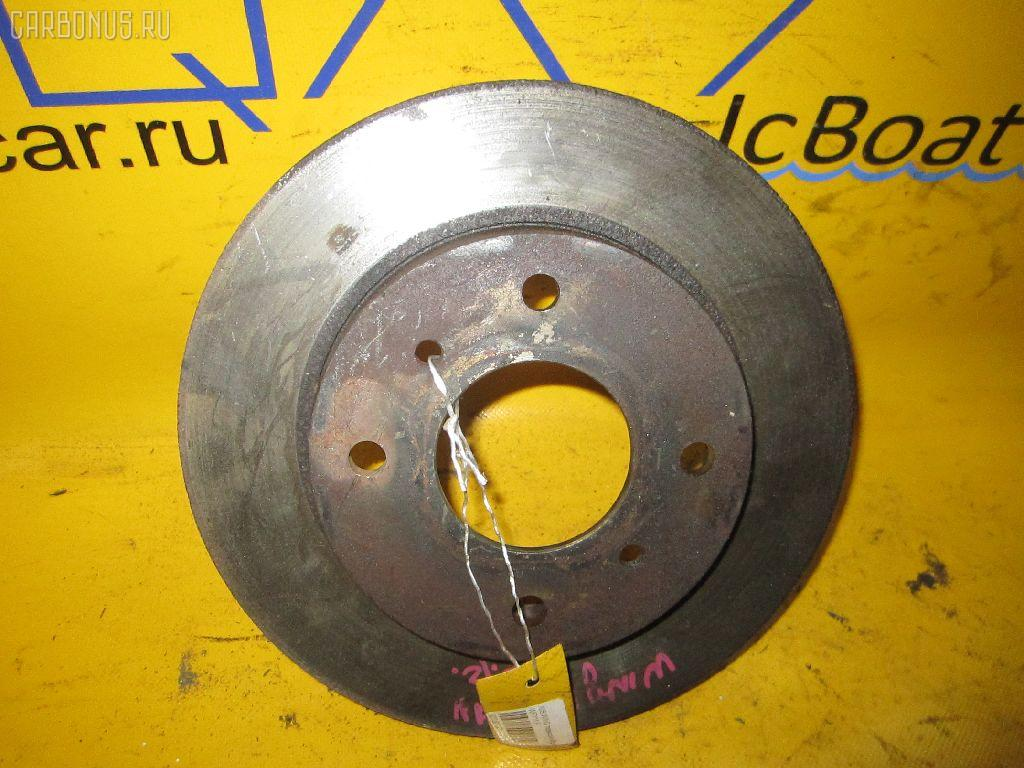 Тормозной диск NISSAN WINGROAD WFY11. Фото 7