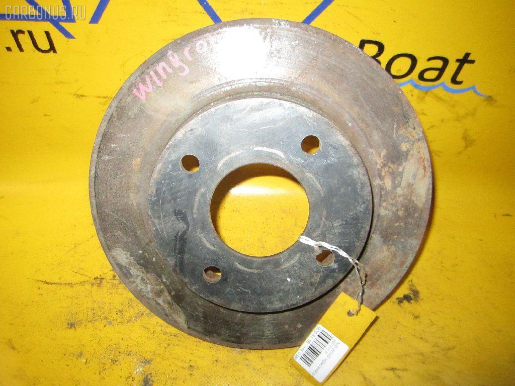 Тормозной диск NISSAN WINGROAD WFY11. Фото 9