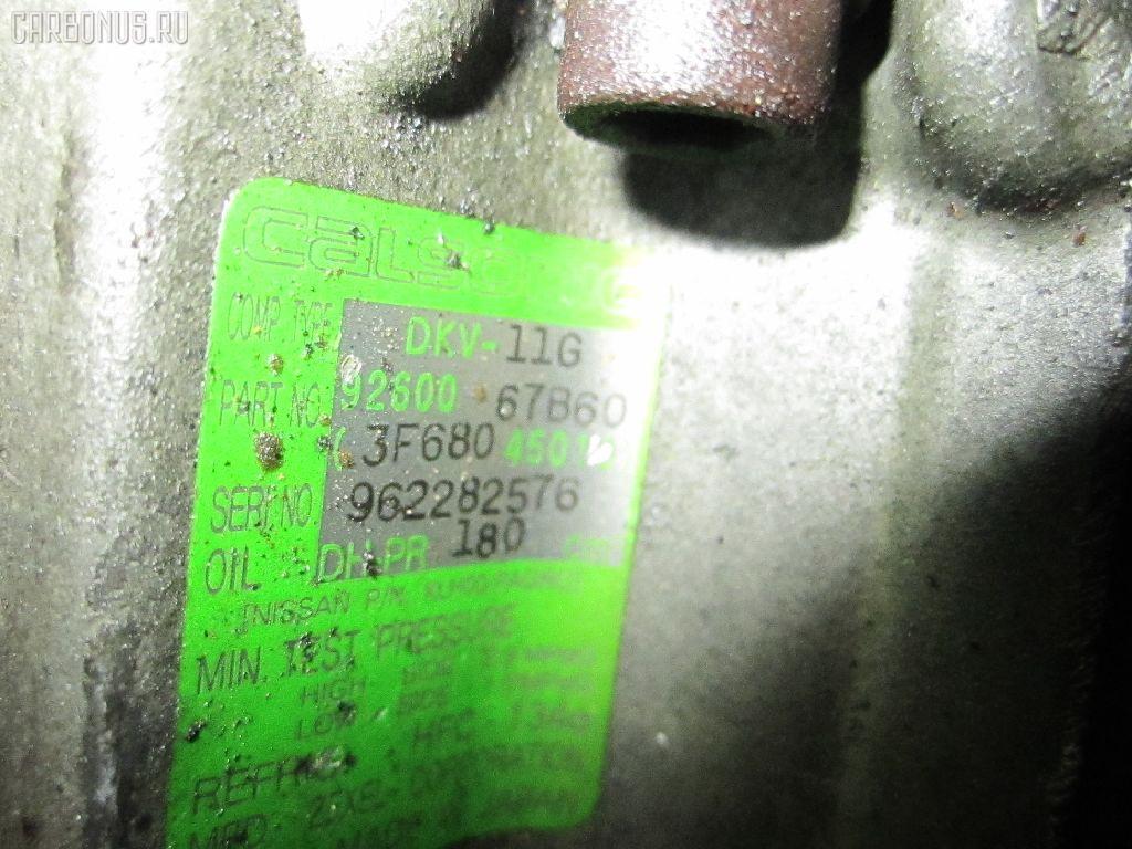 Компрессор кондиционера NISSAN CUBE Z10 CG13DE. Фото 9