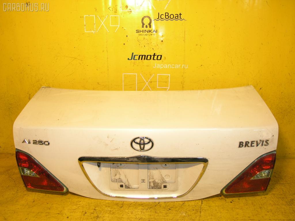 Крышка багажника TOYOTA BREVIS JCG10. Фото 3
