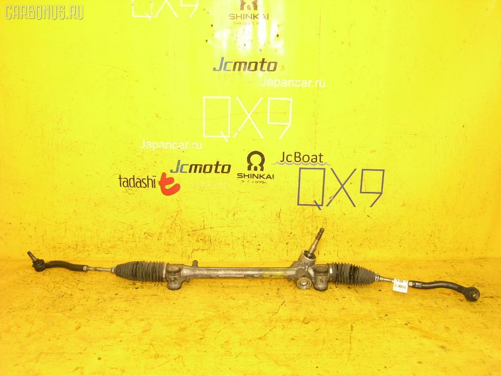 Рулевая рейка TOYOTA VITZ KSP90 1KR-FE. Фото 9