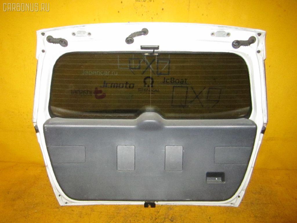Дверь задняя TOYOTA CALDINA ST210G. Фото 8