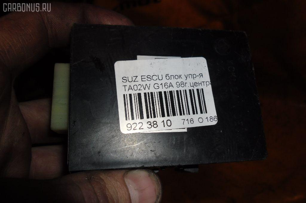Блок упр-я SUZUKI ESCUDO TA02W G16A Фото 3