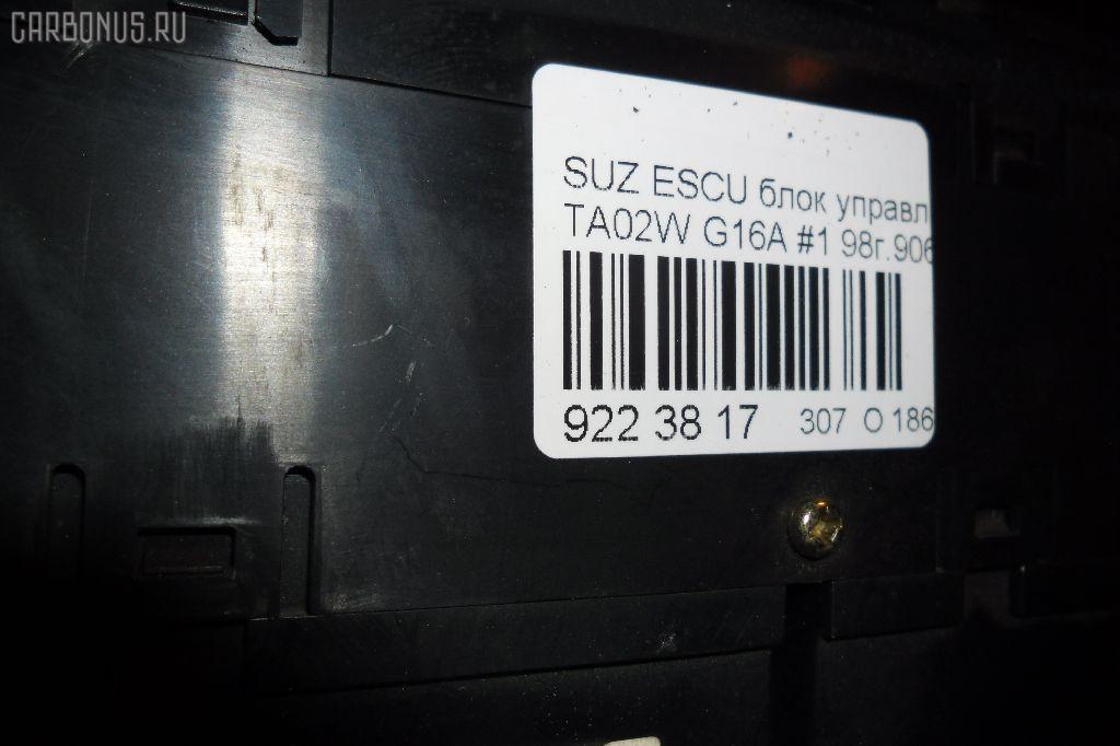 Блок управления климатконтроля SUZUKI ESCUDO TA02W G16A Фото 3