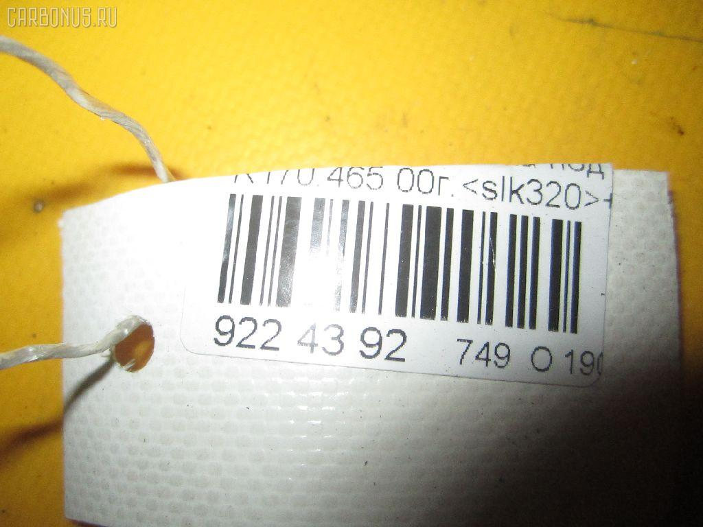 Решетка под лобовое стекло MERCEDES-BENZ SLK-CLASS R170.465 Фото 5