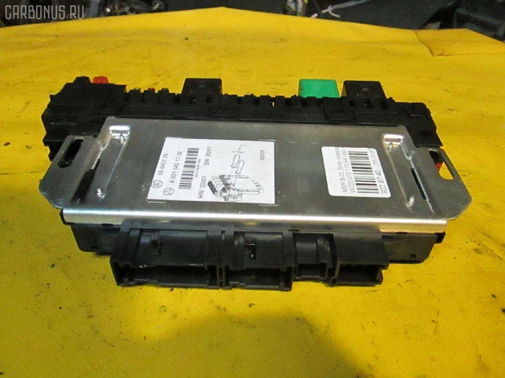 Блок предохранителей MERCEDES-BENZ S-CLASS W220.070 113.941 Фото 1