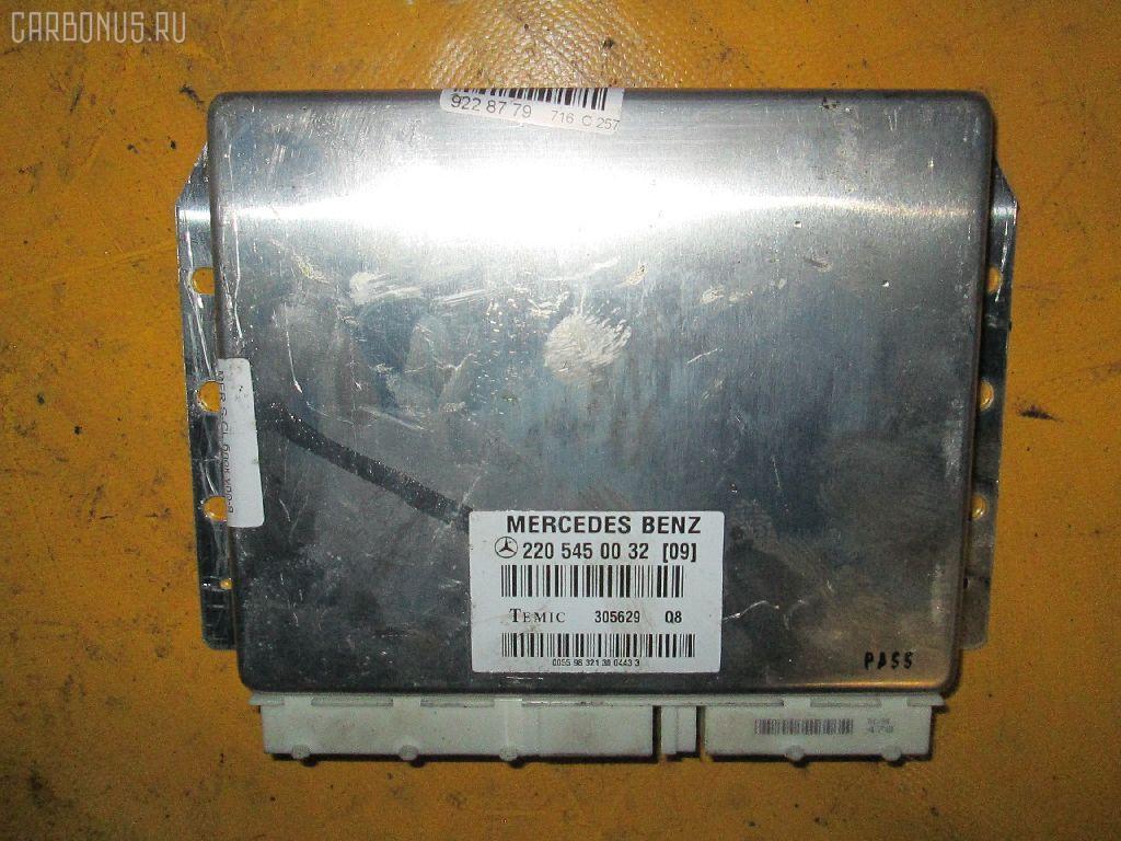 Блок упр-я MERCEDES-BENZ S-CLASS W220.070 113.941 Фото 2