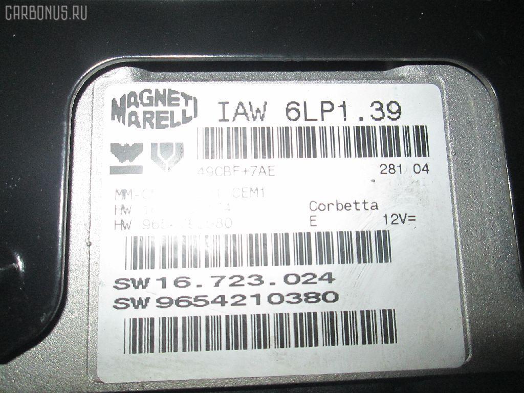 Блок EFI PEUGEOT 307 SW 3HRFN RFN-EW10J4 Фото 3